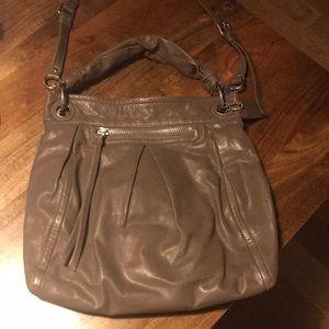 Coach shoulder bag (mushroom color)